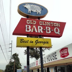Photo taken at Old Clinton Bar-B-Q by stanley l. on 4/3/2013