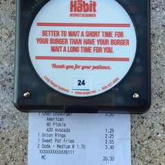 Photo taken at The Habit Burger Grill by Sang Ryong L. on 11/2/2014