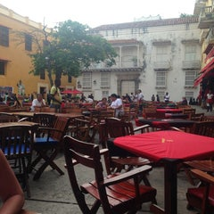 Photo taken at Plaza Santo Domingo by Carlos O. on 6/9/2013
