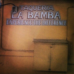 Photo taken at Taqueria La Bamba by Eryn T. on 12/19/2012
