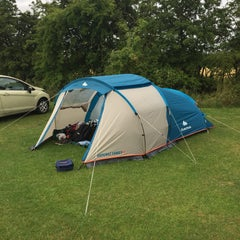 Photo taken at Cambridge Camping and Caravanning Club Site by Antoine M. on 7/28/2015