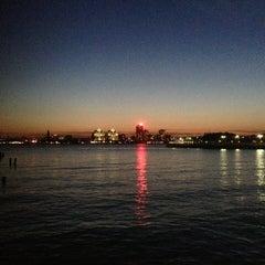 Photo taken at Hudson River Park by Jason T. on 6/1/2013