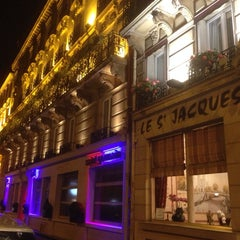 Photo taken at Hôtel Saint-Jacques by Takaaki S. on 10/16/2013