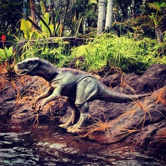 Photo taken at Jurassic Park The Ride by Juliet S. on 5/6/2013