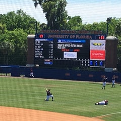 Photo taken at McKethan Stadium at Perry Field by Ralph on 4/3/2016