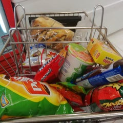 Photo taken at LotteMart by Widia S. on 10/23/2014