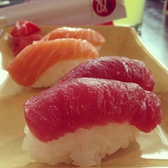 Photo taken at Sushi Nobu by Tera Z. on 6/28/2013