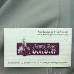 Photo taken at How's Your Onion? by Ryan V. on 7/4/2013