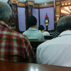 Photo taken at Gereja Katolik Santa Monika by Agus Mulyono on 1/17/2015