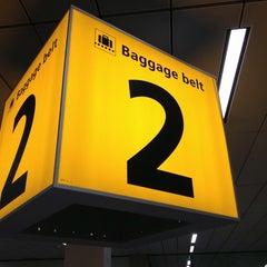 Photo taken at Baggage Belts by John M. on 7/27/2013