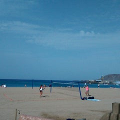 Photo taken at Playa Grande by Anne-Christine on 1/1/2015