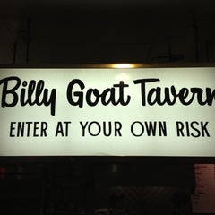 Photo taken at Billy Goat Tavern by Brandy R. on 4/27/2013