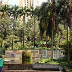 Photo taken at Parque Burle Marx by Kelzinha on 4/27/2013