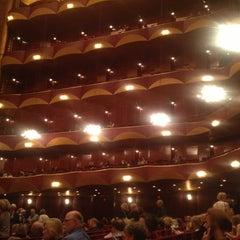 Photo taken at American Ballet Theatre at the Metropolitan Opera House by Tessalia S. on 6/12/2013