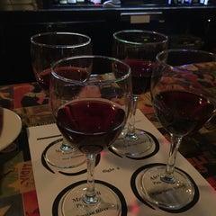Photo taken at (Vin'tij) Wine Boutique & Bistro by Brian T. on 5/7/2016