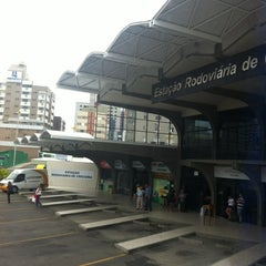 Photo taken at Estação Rodoviária de Criciúma by San C. on 12/11/2012