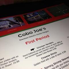Photo taken at Cobo Joe's by Jason S. on 1/22/2013
