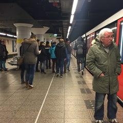 Photo taken at Metrostation Diemen-Zuid by Kristina M. on 1/3/2015