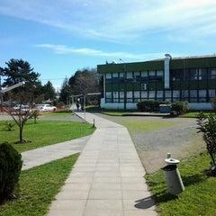Photo taken at Universidad del Bío-Bío, Campus Fernando May by Guillermo J. on 8/31/2012