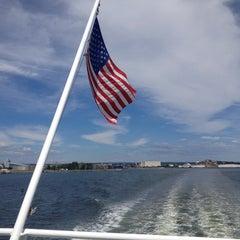 Photo taken at Bridgeport & Port Jefferson Ferry by Rachel G. on 8/23/2013