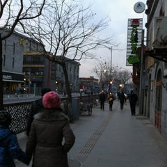 Photo taken at Qianmen Hostel by Thomas S. on 1/24/2013