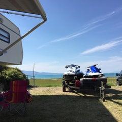Photo taken at Bear Lake by Kris T. on 6/27/2015