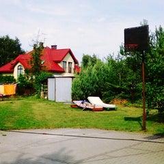 Photo taken at Podkowa Leśna by Olka C. on 8/18/2013