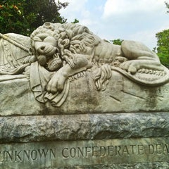 Photo taken at Oakland Cemetery by Paige H. on 6/8/2013