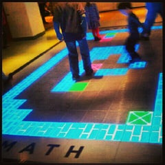 Photo taken at Museum of Mathematics (MoMath) by Martha G. on 2/16/2013