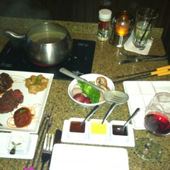Photo taken at The Melting Pot by Kate B. on 2/24/2013