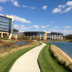 Photo taken at Lowe's Home Improvement - Corporate Office by Marcus C. on 11/8/2012