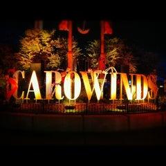 Photo taken at Carowinds by Jess M. on 10/22/2012