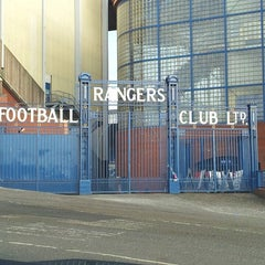 Photo taken at Ibrox Stadium by John V. on 2/23/2013