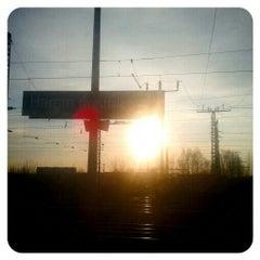 Photo taken at Bahnhof Hamm (Westfalen) by Eva on 3/27/2013