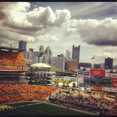 Photo taken at Heinz Field by Paul P. on 9/24/2012