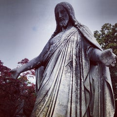 Photo taken at Sleepy Hollow Cemetery by Daniel B. on 10/19/2013