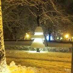 Photo taken at Jēkaba laukums (Jekaba square) by Tanusha🐈 R. on 1/10/2013