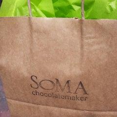 Photo taken at SOMA chocolatemaker by TastyMontreal on 6/24/2013