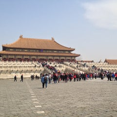 Photo taken at 故宫博物院 Forbidden City by Jih Ying T. on 4/13/2013