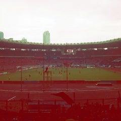 Photo taken at Stadion Utama Gelora Bung Karno (GBK) by Febri D. on 2/16/2013
