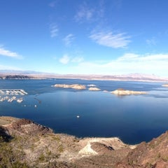 Photo taken at Lake Mead Overlook by Christina X. on 12/31/2012