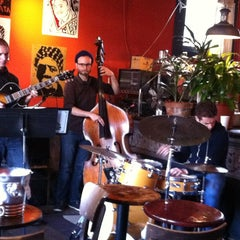 Photo taken at Revolution Cafe by Cynthia S. on 5/22/2013