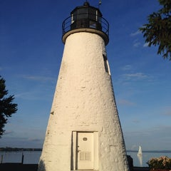 Photo taken at Concord Point and Lighthouse by Nicole F. on 6/19/2014
