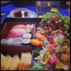Photo taken at Nami Sushi Restaurant by Valentina C. on 6/26/2013