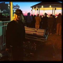 Photo taken at Rehoboth Beach Bandstand by Gardner G. on 4/7/2015