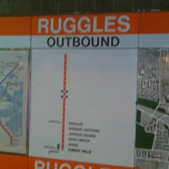 Photo taken at MBTA Ruggles Station by Raymel S. on 10/3/2012