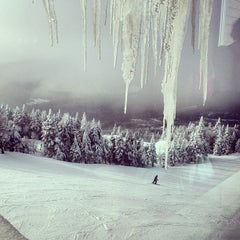 Photo taken at Sommet du Mont-Tremblant Summit by Adam I. on 3/4/2013