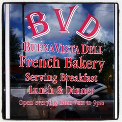Photo taken at Buena Vista Deli by Artigiano G. on 1/6/2013