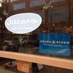 Photo taken at Jitters Cafe by John K. on 11/3/2012