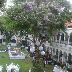 Photo taken at Hotel Majapahit by Dewi W. on 5/26/2013